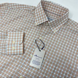 Peter Millar Crown Finish CWK Plaid Shirt!